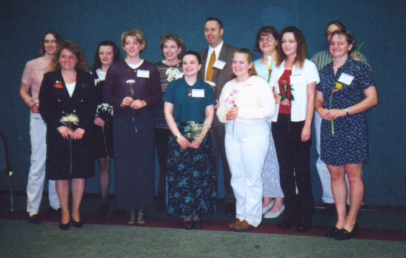 2000 Nebraska State Student Nurses Association Board
